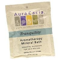 Aura Cacia Mineral Bath Tranquility 2.5 oz ( Value Bulk Multi-pack) by Aura (Aura Cacia Tranquility Mineral Bath)