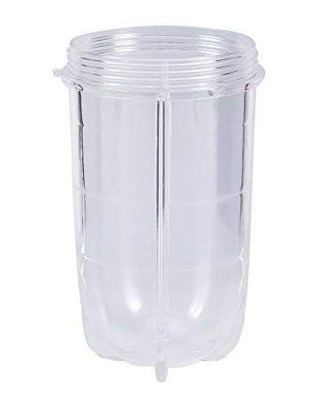 Zerone Taza Grande de Repuesto para Mezclador mágico de 250 W (Altura y Corto)