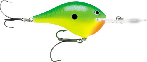 Rapala Dives-to Metal Sure Set 20 Fishing lure (Chartreuse Lime, Size- 2.75)