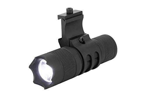 Monstrum 150 Lumens Flashlight with Remote Pressure Switch and Picatinny Rail Mount