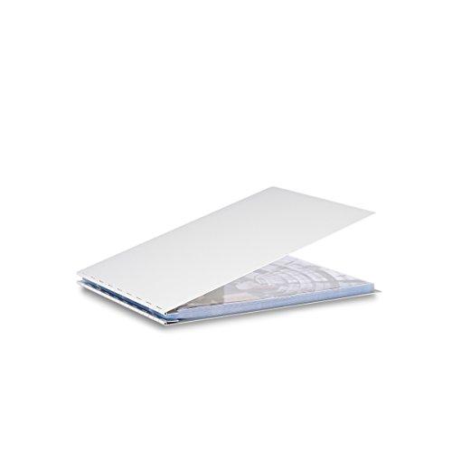 Pina Zangaro Machina Screwpost Binder, 8.5x11 Landscape, Includes 20 Pro-Archive Sheet Protectors (34048) by Pina Zangaro
