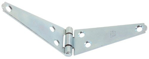 Stanley Hardware 753250 3'' Zinc Light Duty Strap Hinges 2 Count by Stanley Hardware