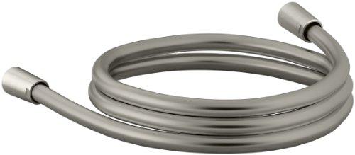 Kohler Hose - KOHLER K-98359-BN Awaken 60-Inch Smooth Shower Hose, Vibrant Brushed Nickel