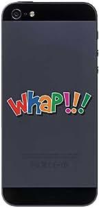 Etiqueta móviles Teléfono Móvil Piel Comic 094 - Escena divertida Whap !!! - 50 x 16 mm pegatinas
