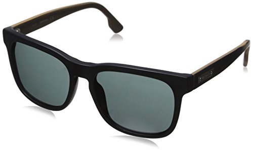 Diesel Men's Dl0151 Wayfarer Sunglasses, Black, 55 - Sunglass Diesel