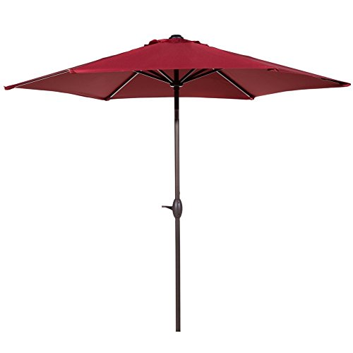 The 5 best patio umbrellas 2017 for Patio table umbrella 6 foot