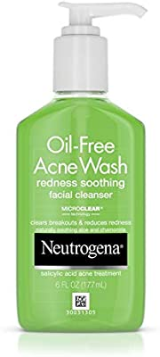 neutrogena oil free acne