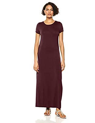 Amazon Essentials Women's Short-Sleeve Maxi Dress