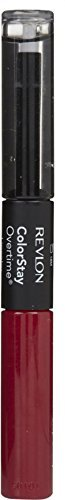 (Revlon ColorStay Overtime Liquid Lip Color, Non-Stop Cherry [010] 0.07 oz (Pack of 4))