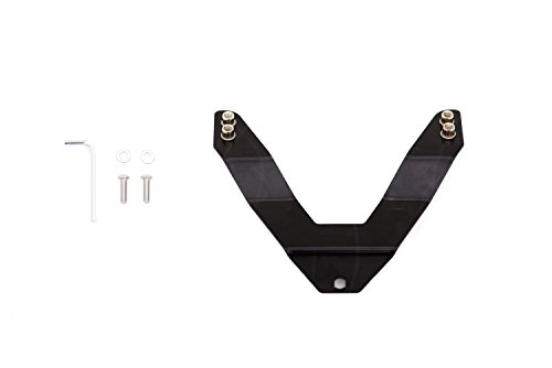 Lund 27021000 Black License Plate Relocation Kit for LED Bull Bars (Plate Relocation)