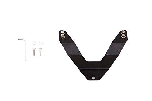 Lund 27021000 Black License Plate Relocation Kit for LED Bull Bars
