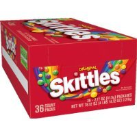 Skittles Original, 2.17-Ounce Packages (Pack of 36) have a problem Contact 24 hour service Thank You