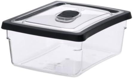 IKEA RARITET - contenedor de Alimentos, transparente - 19x14x7 cm ...