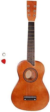 signmeili 25 Coffee Wooden Acoustic Guitar A Beginner Guitar SetStrings and Picks Giving The Child A / signmeili 25 Coffee Wooden Acoustic Guitar A Beginner Guitar SetStrings and Picks Giving The Child A
