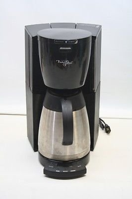 - Starbucks Barista Aroma Programmable 8 Cup Coffee Machine/Maker Model BA1 Stainless Steel & Black w Thermal Carafe