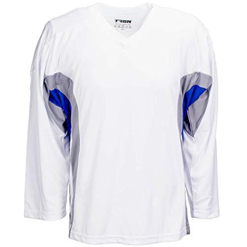 be601cb91 TronX DJ200 Team Hockey Practice Jersey (White/Royal Large)