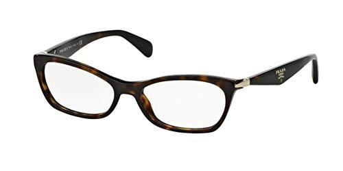 Eyeglasses Prada 0PR 15PV 2AU1O1 HAVANA (53 16 135)