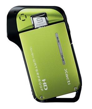 Sanyo Xacti CG10 Dual Camera HD Flash Memory Camcorder with 5x Optical Zoom (Green)