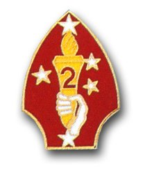 US Marine Corps 2nd Division Lapel ()