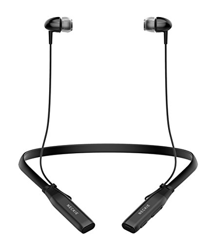 Bluetooth Headphones Neckband Xtonek Wireless Sport Headset, IPX5 Waterproof Lightweight Neck Earphones w/ Mic HD Stereo Sound, Portable Cordless In Ear Earbuds for iPad iPhone Android Cell Phones