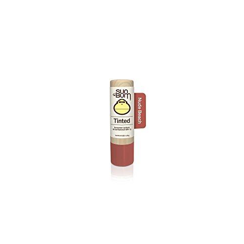 (Sun Bum Tinted Lip Balm, Nude Beach, SPF 15, UVA/UVB Broad Spectrum Protection, Hypoallergenic, Paraben Free, 1 Count)