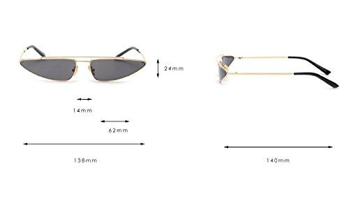 UV Protection Yellow UV400 Gafas CTao De Sol De De Ojo Yellow Sol Avant Gafas De Gato Guapo Garde IqItwC