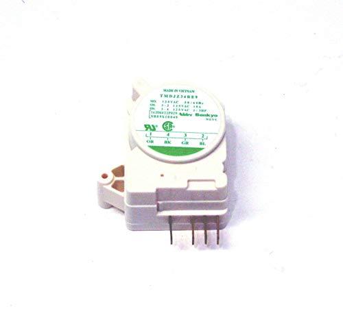 Refrigerator Defrost Timer Control TMDJZ34RE9 for GE WR09X10049 (Ge Refrigerator Defrost Timer Control)