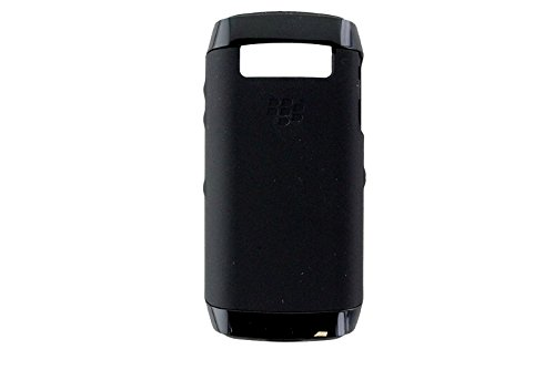 BlackBerry Silicone Case with Flexible Frame for BlackBerry Pearl 9100 - Black