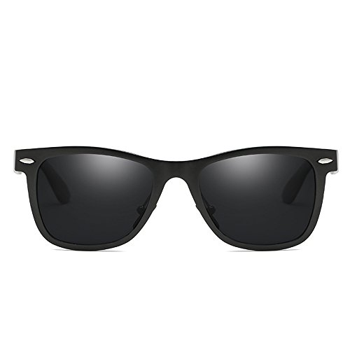 De De Magnesio De Deportes De Black Gafas Nueva Al Aire De Espejo Gafas Sol Aluminio Conducción Libre De Sol Retro Gray Polarizadas De Antideslumbrantes Sol Gafas SEEKSUNG® Wnz61xan