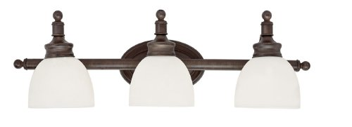 Trans Globe Lighting EST Roanoke 3-Light Bath Bar Light, Rubbed Oil Bronze durable service