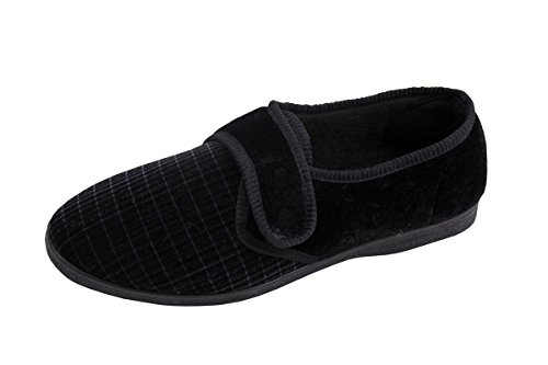 Textile Look Wear Use Soft Year Shoes All Super Shoes Mens Navy Plain Mule Evxax5q