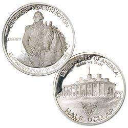 US Mint 1982-S George Washington Commemorative Silver Pro...