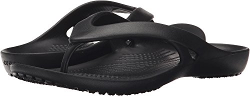 Crocs Women's Kadee Ii Flip Black 9 M US ()