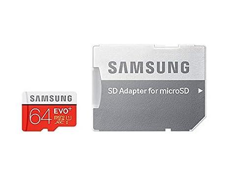 Samsung EVO+ - Tarjeta de Memoria microSD de 64 GB: Amazon.es ...