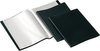 A4 Viquel 152344 color negro Carpeta de 50 fundas de polipropileno