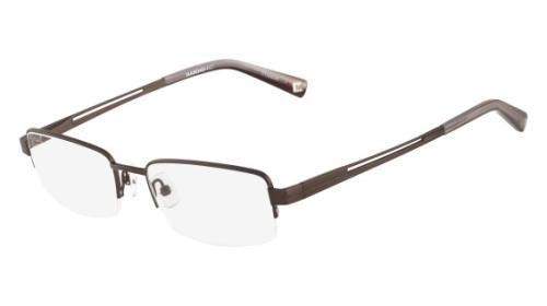 MARCHON Eyeglasses M-LUDLOW 210 Brown 55MM from MarchoNYC