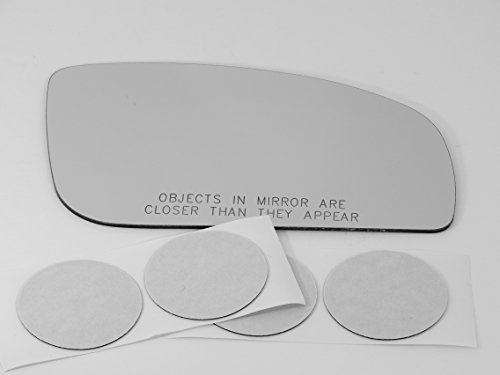 Fits 07-08 Inf G35 Sedan 06-10 M35, M45 Right Passenger Replacement Mirror Glass Lens with Adhesive, USA (Does Not Fit the Coupe)