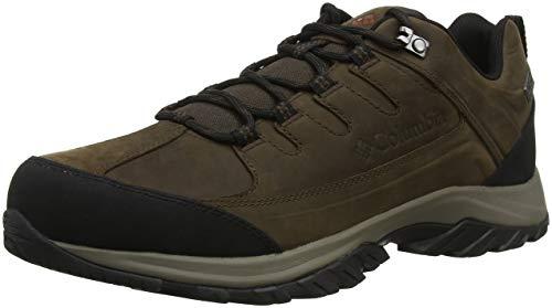(Columbia Men's Terrebonne II Outdry Hiking Shoe, Cordovan, Rustic Brown, 13 Regular)