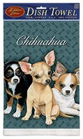 Chihuahua Puppies Dish TowelFiddler's Elbow