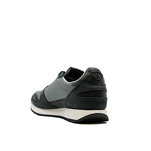 41 Laterale Logo Bassa Sneakers Armani Emporio con 1Yq4xpZnw