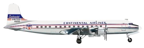 100% precio garantizado Herpa 556156 Continental Airlines   United United United Airlines Douglas DC-6B Servicio de Intercambio N90961 1  200 Modelo Fundido a Troquel  sin mínimo