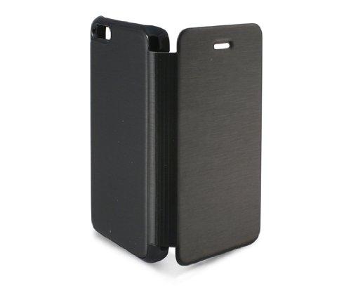 KSIX B0913FU81 Folio Case für Apple iPhone 5C schwarz