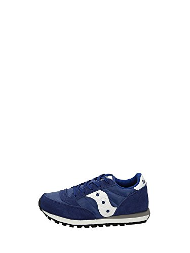 Jazz Sneakers White Boy Low Saucony Blue PxgSww8
