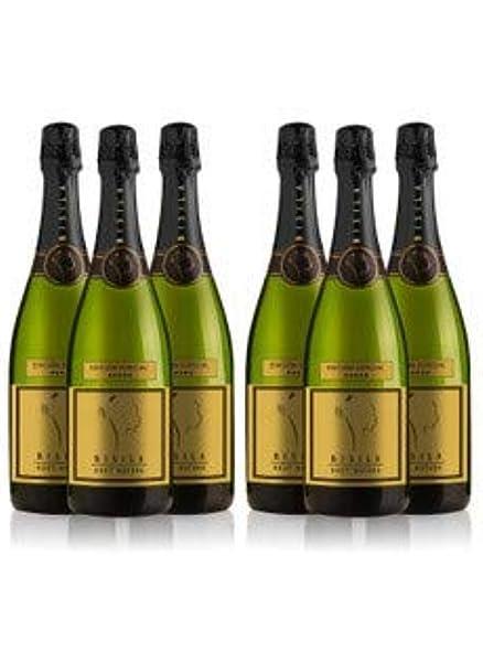 LADRÓN DE LUNAS Cava Bisila Brut Natural Edición Especial. 100% Chardonnay. Botella de 75 Cl (Pack de 6 botellas): Amazon.es: Alimentación y bebidas