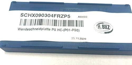 10 Wendeplatten SCHX 090304 FRZP5 - BILZ
