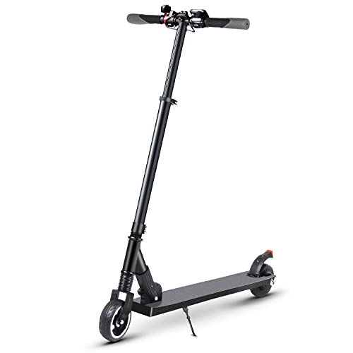 RND S1 Electric Scooter Adult Portable Folding Scooter for Kids 13+ Teenager with 25V Rechargeable Battery, Max Speed up to 23KM/H, All-Terrain Aluminum Alloy Wheels 250W Motor Max Weight 200 lbs