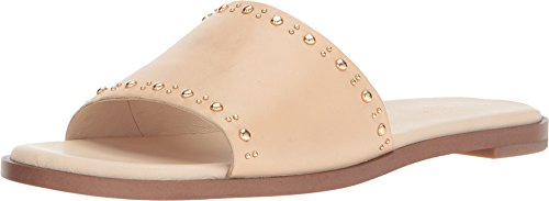 Cole Haan Women's Anica Stud Slide Sandal, Nude Leather, 10.5 B US by Cole Haan