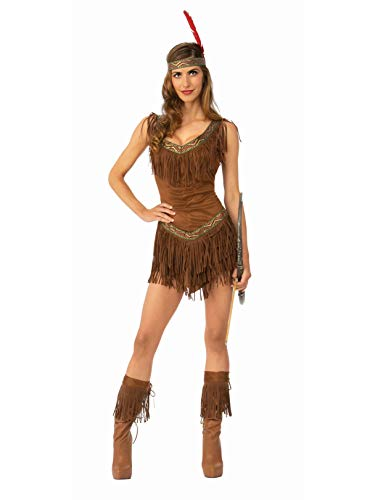 Sexy Native American Maiden Womens Costume