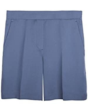 Theory Harsbie Pleated Short, Seaport, Size 6