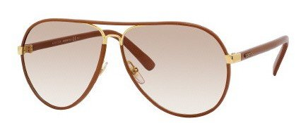 Gucci GG2887/S Sunglasses-0UYZ Cuir Leather (S6 Brown Gradient - Gucci Sunglasses Leather